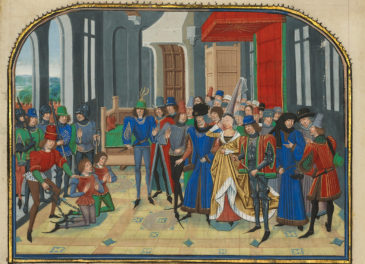 Enemies All Around—The Medieval/Modern Game of Thrones