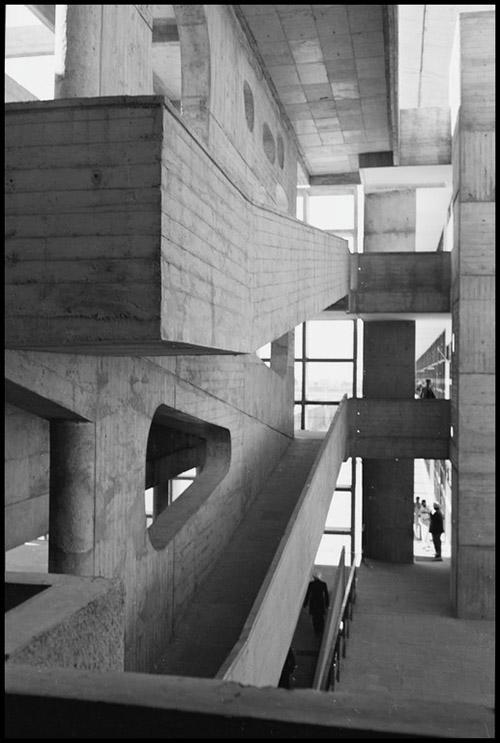 Palace of Justice, Le Corbusier / Lucien Hervé