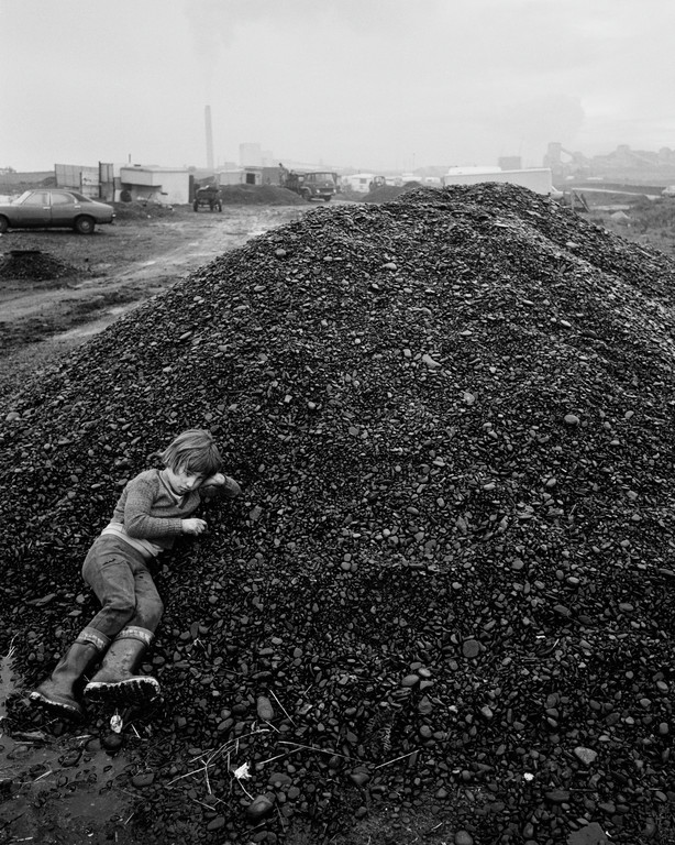 Chris Killip / John on the Coal, Seacoal Camp, Lynemouth, Northumerland
