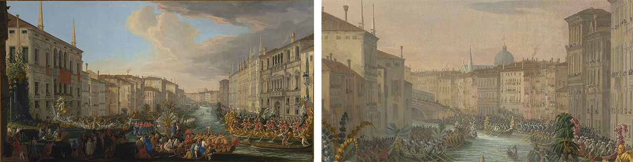 Regatta on the Grand Canal in Honor of Frederick IV, King of Denmark