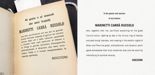 Breaking All the (Editorial) Rules for an Italian Futurist Book