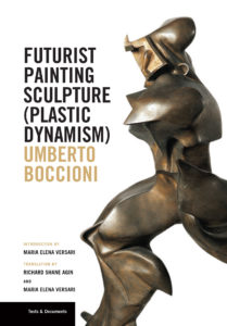 Book cover featuring an abstract bronze sculpture.