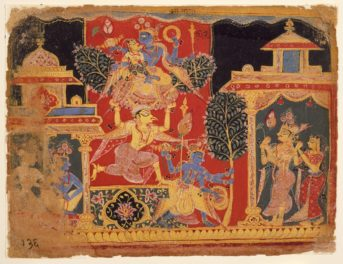 Visions of Paradise in a Global Middle Ages: Illuminated Manuscripts and Infinite Gems from India and Europe