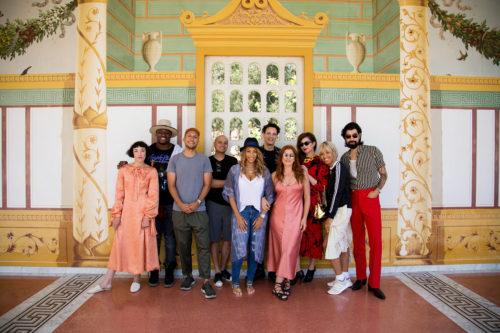 Art Inspires DJs at the Getty Villa