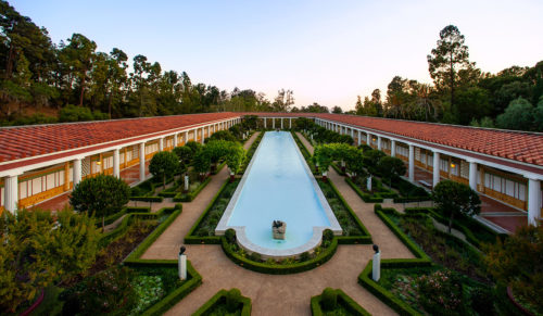 Getty Villa and Center Safe from Fires; Villa Closed through Thanksgiving Day