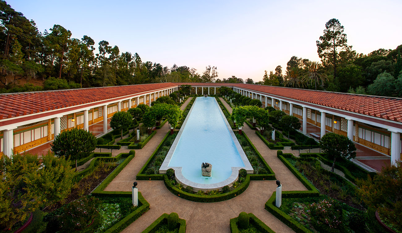 The Getty Center is safe from wildfires recommend