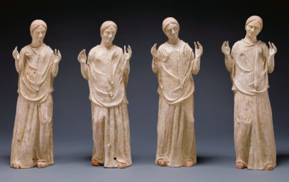 Science Reveals New Clues about Mysterious Ancient Greek Sculptures of Mourning Women