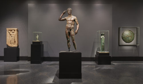 Talking about the Getty Bronze