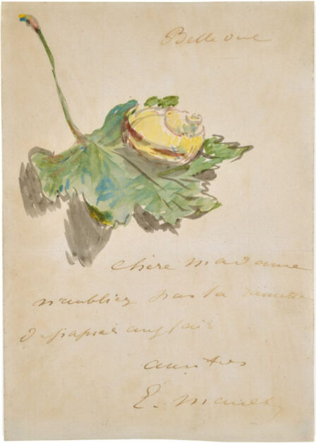 Snail Mail: A Letter from Édouard Manet