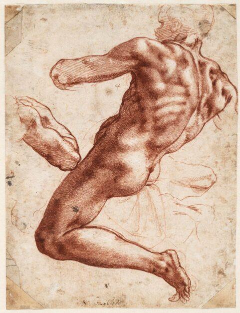 Exhibition Examines Michelangelo's Working Process through Rare Original Drawings