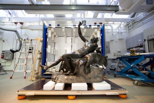 Photos: Saving an Ancient Roman Sculpture, Step by Careful Step