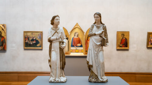 Giovanni di Balduccio's <em>The Annunciation</em> Goes on View at the Getty Center