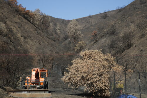 Responding to Disaster: The Getty Fire