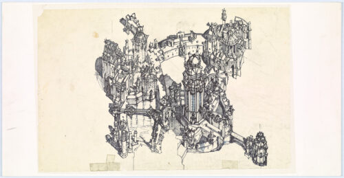 Cities and Beyond: A Collection of Lebbeus Woods' Drawings Comes to Getty