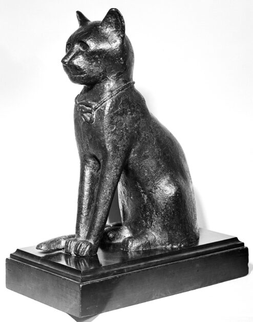 The Odyssey of an Egyptian Cat Sculpture