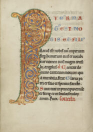 Reflections: Aleia McDaniel on an Illuminated Letter P