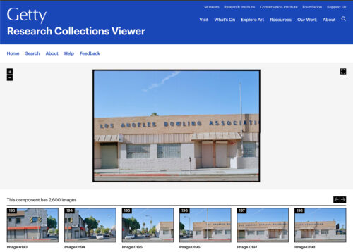 First Release of Getty's New Research Collections Viewer Offers Digital Access to Vast Archives