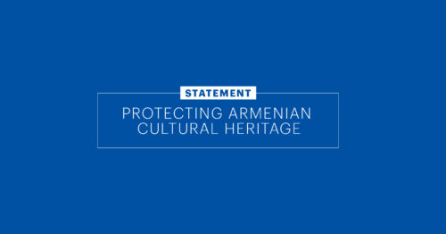 Getty Trust Statement on the Need to Protect Armenian Cultural Heritage