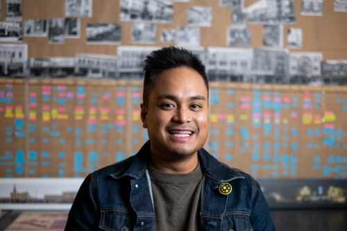 A Former Intern Reflects on the Mentorship, Community, and Passion That Drive Him