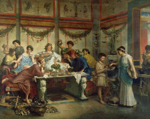 How Did Ancient Greeks and Romans Celebrate Special Occasions?