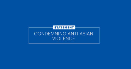 Getty Condemns Anti-Asian Violence