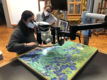 Video: A Rare Opportunity to Study Van Gogh's <em>Irises</em>