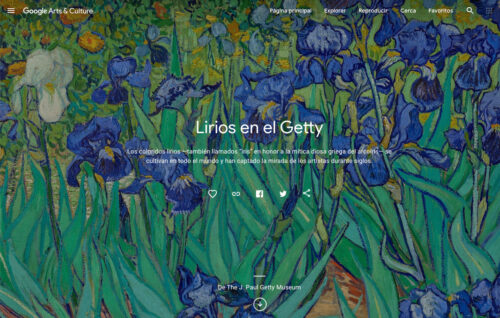 Getty's Google Arts & Culture Online Exhibits Now Viewable in Spanish