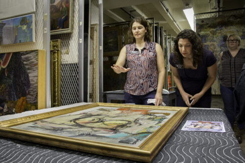 PODCAST: The Recovery and Conservation of a Stolen de Kooning