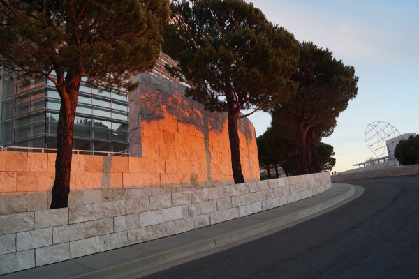 Sunset at the Getty