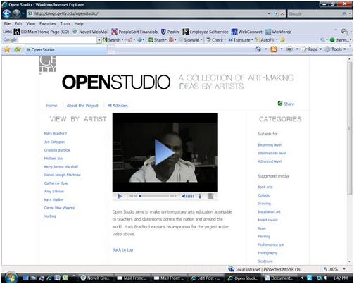 Open Studio: A Collection of Art-Making Ideas by Artists