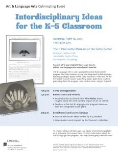 Art & Language Arts Culminating Event