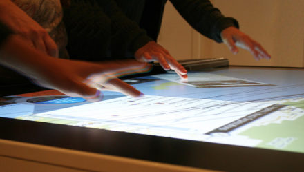 Exploring Los Angeles on a Multitouch Table