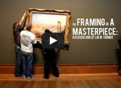 """Behind the Scenes with J.M.W. Turner's """"Modern Rome"""""""