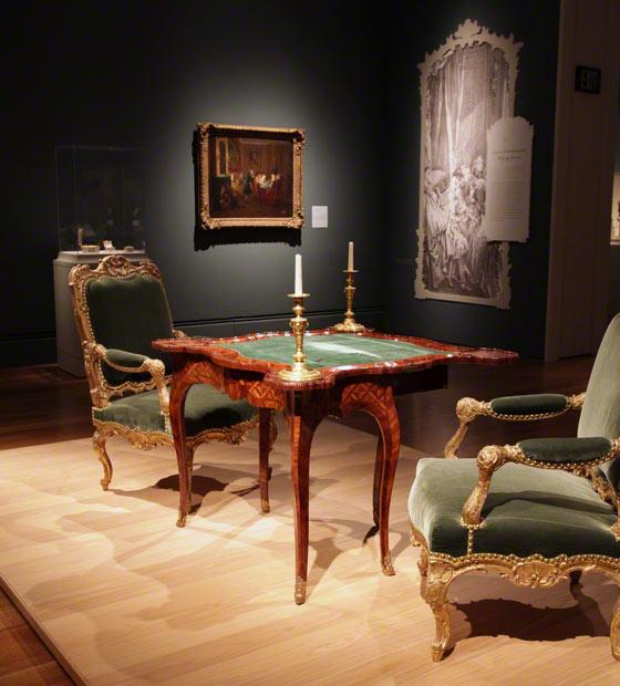 Paris Gamblers Gaming In 18th Century France The Getty Iris