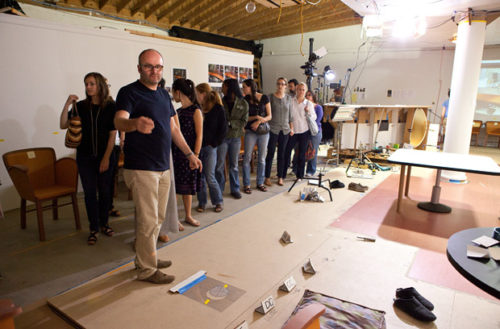 A Visit to Thomas Demand's Studio