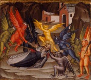 A Devilish Artwork for Halloween