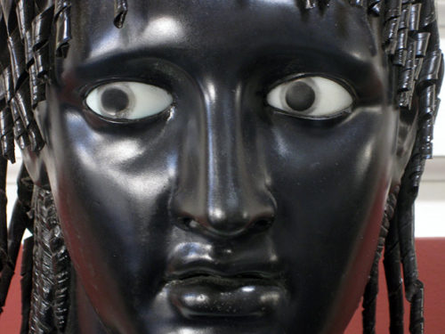 Come Eye to Wild Eye with the Bronze Sculptures in the Getty Villa Gardens
