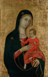 Madonna and Child Visit from Hearst Castle