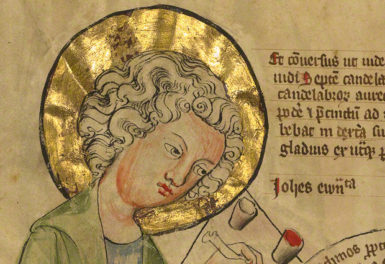 The Manuscript Files: A Medieval Marilyn?