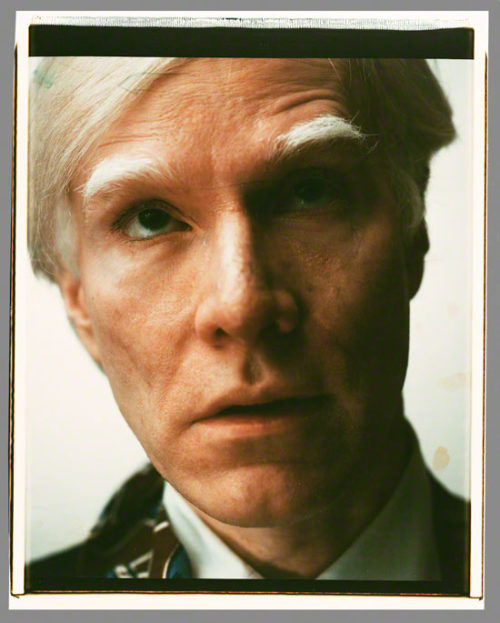 Masterpiece of the Week: Andy Warhol's Polaroid, a Self-Portrait for the Facebook Age