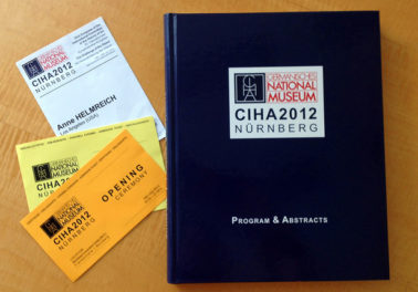 Field Report from the Art History Olympics, the 33rd CIHA Congress