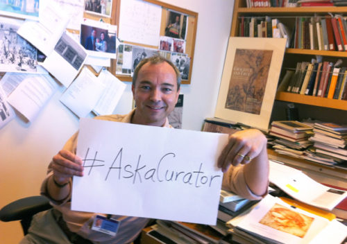 We Answer Your Questions for Ask-a-Curator Day