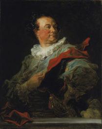 "Fragonard's ""Fantasy Portrait"" of Dashing French Duke on Temporary Loan"