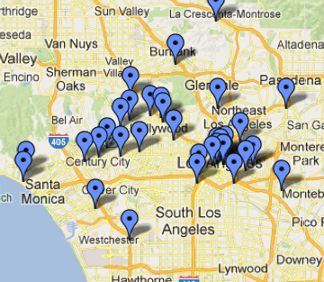 Getty Voices: Our L.A., Mapped