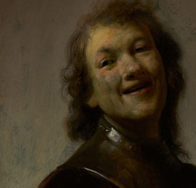 Laughing Out Loud! Rembrandt Self-Portrait Now on View at the Getty