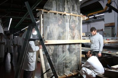"""Giorgio Vasari's Monumental Painting """"Last Supper"""" Reemerges After Nearly 50 Years"""