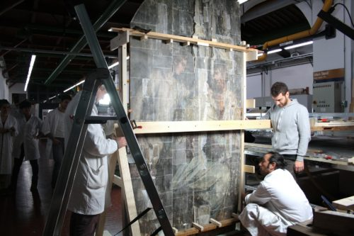 "Giorgio Vasari's Monumental Painting ""Last Supper"" Reemerges After Nearly 50 Years"