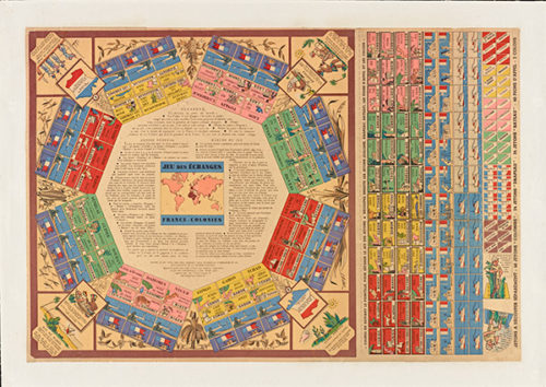 Colorful Board Game Turns the French Colonies into Child's Play