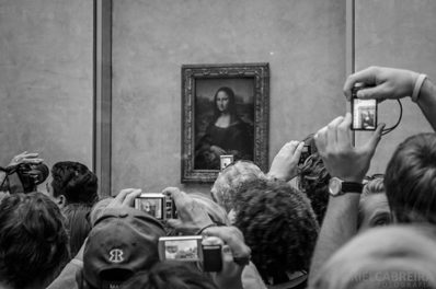 Struck by Lightning at the Louvre