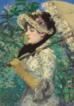 <em/>Jeanne (Spring), 1881, Édouard Manet. Oil on canvas, 29 1/8 × 20 1/4 in. The J. Paul Getty Museum, 2014.62. Digital image courtesy of the Getty's Open Content Program
